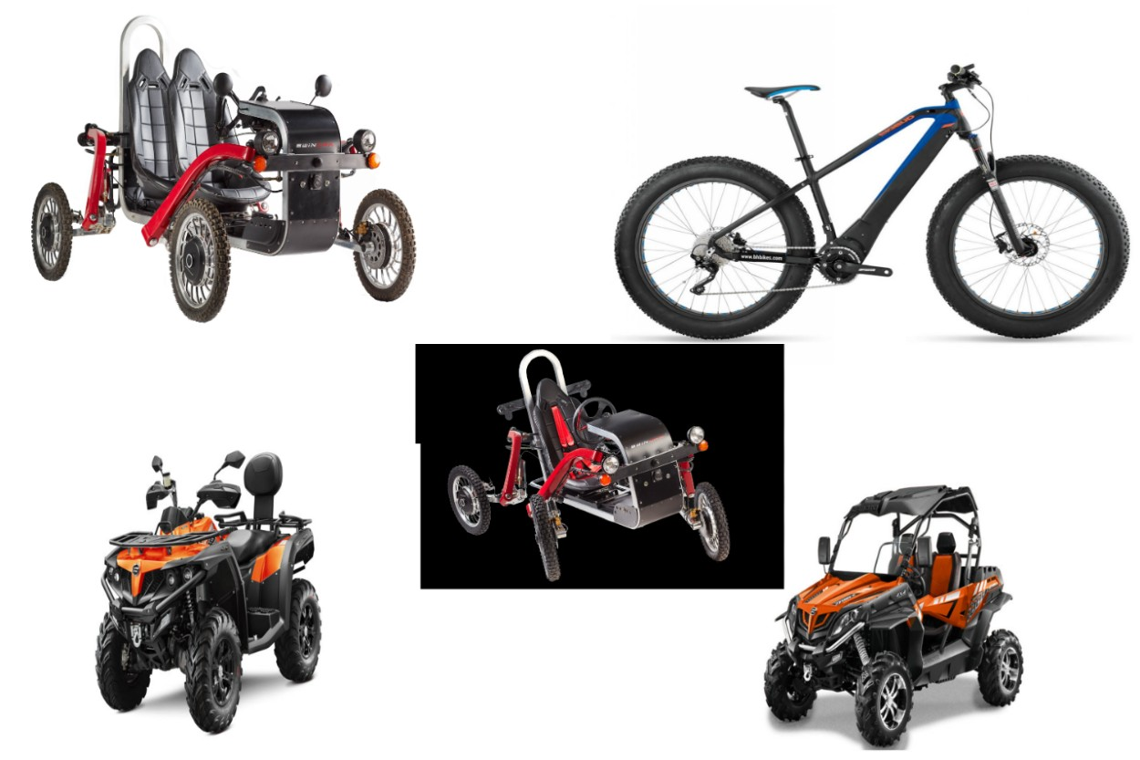 Fat Bike, Swincar, Quad, SSV